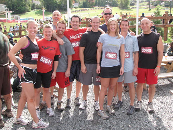 CrossFit Cheshire at the Warrior Dash 2010. After we realized we would most
